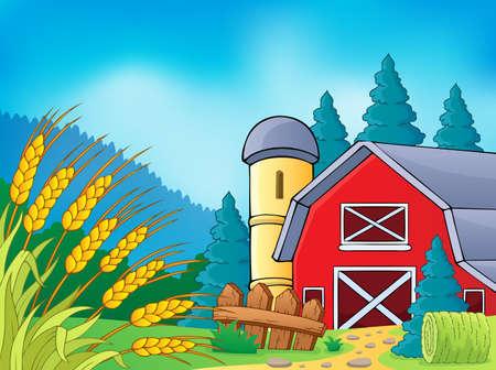 grainery: Farm theme image 9 - eps10 vector illustration