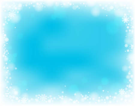 Snowflake theme background  Vector