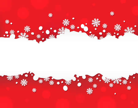 Snowflake theme background 5  Illustration