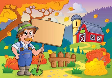 barnyard: Autumn farm theme