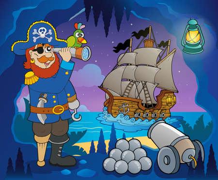 Pirate cove theme image