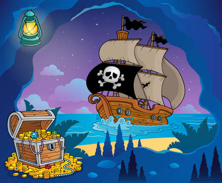 Pirate cove theme image