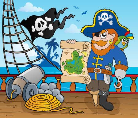 topic: Pirate ship deck topic