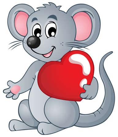 gnawer: Mouse theme image  Illustration