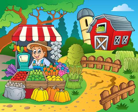 farmstead: Farmer theme image