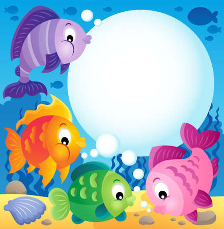 escamas de peces: Imagen tema Fish
