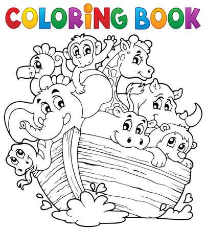 noah: Coloring book Noahs ark