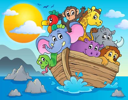 Noahs ark theme image