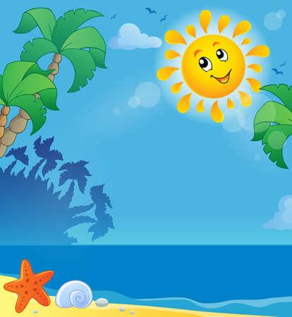 暑假题材图象2  -  eps10传染媒介例证