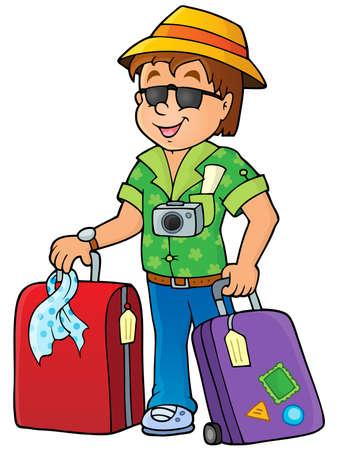 luggage bag: Travel thematics image 1