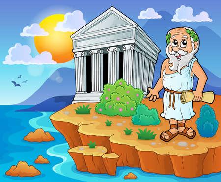 templo griego: Imagen del tema griego