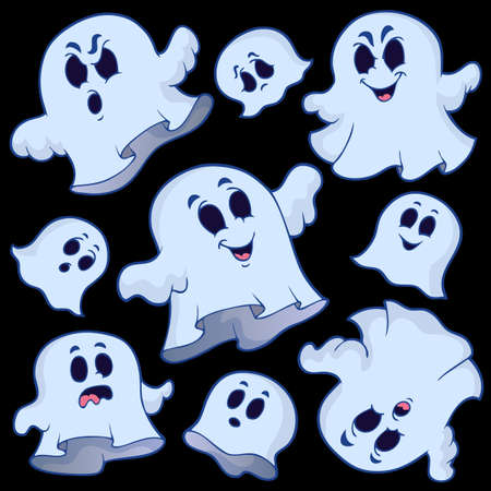 Ghost topic image 6 - eps10 vector illustration. Vector