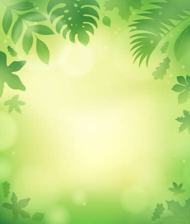 spring background': Leaves theme background 5 - eps10 vector illustration.