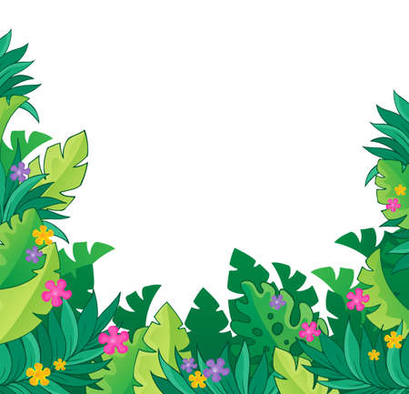eps10: Image with jungle theme 7 - eps10 vector illustration.