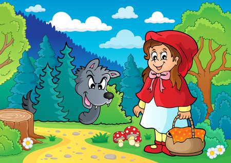 Fairy tale theme image 1 - eps10 vector illustration.
