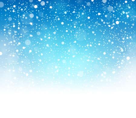 Snow theme background