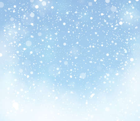 snow: Snow theme background 9 - eps10 vector illustration.