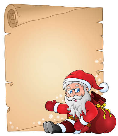 Christmas topic parchment 4
