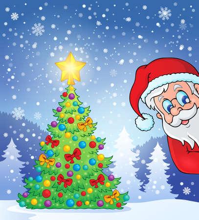 lurk: Christmas tree theme 7