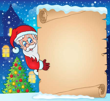 lurk: Winter parchment Christmas theme 1