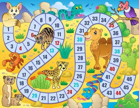 game board: Board game theme image