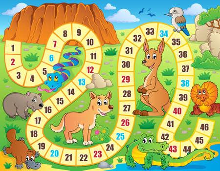 frilled: Board game theme image  Illustration