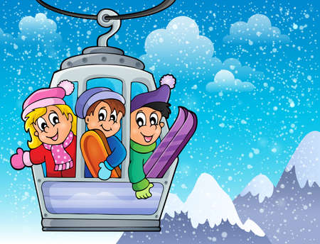 cable car: Cable car theme image