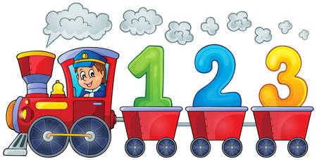 세 개의 숫자와 기차