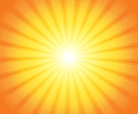 抽象太阳题材图象3  -  eps10传染媒介例证。
