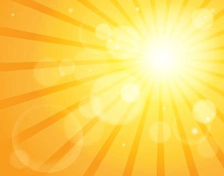 Abstract sun theme image 5 - eps10 vector illustration.