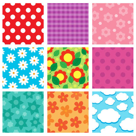 eps10: Pattern theme collection 2 - eps10 vector illustration.