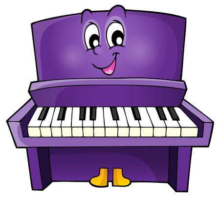 피아노 테마 이미지 1 - eps10 벡터 일러스트 레이 션입니다.