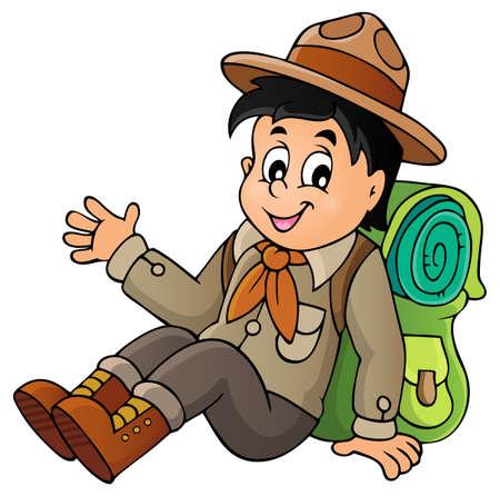 scout: Scout boy theme image