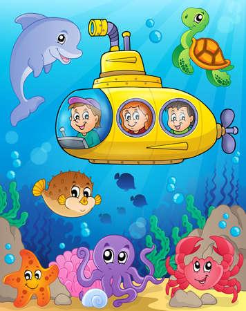 bubble sea anemone: Submarine theme image