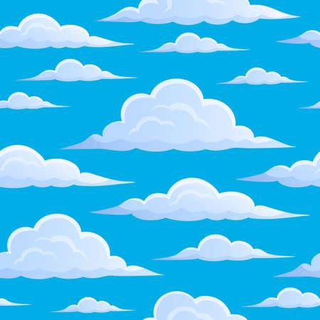 nebulosidade: Nuvens no c Ilustração