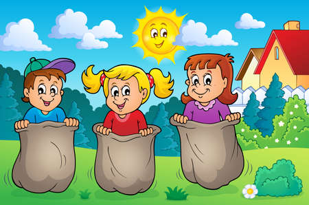 playing: Children playing theme image