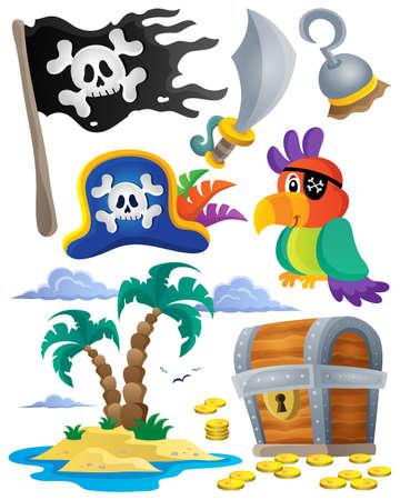 eyepatch: Pirate theme set