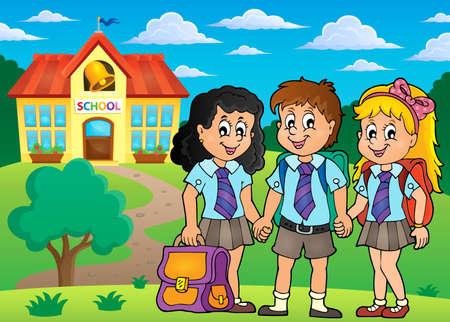 pupils: School pupils theme image
