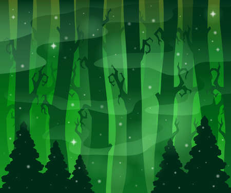 mysterious: Mysterious forest theme image