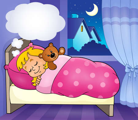 Image thème enfant Sleeping