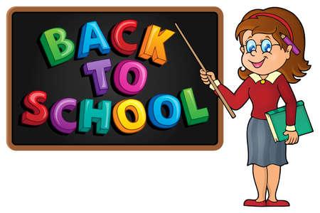 woman teacher: Woman teacher theme image