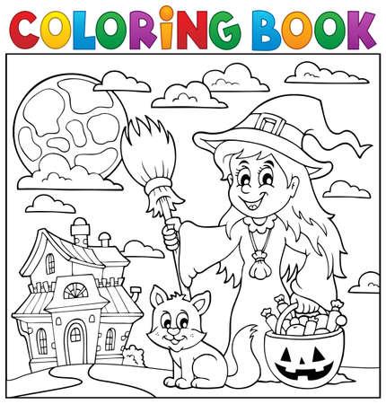 색칠하기 책 할로윈 주제도 (1)