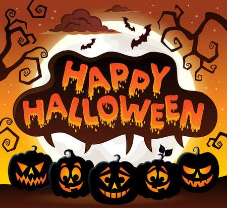 topic: Happy Halloween topic image 8  Illustration