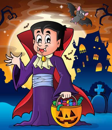 vampire bats: Halloween vampire theme image 2