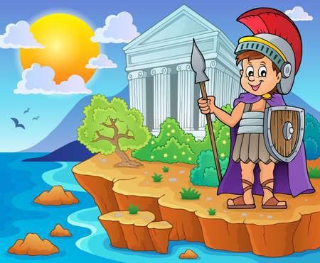 coast: Roman soldier