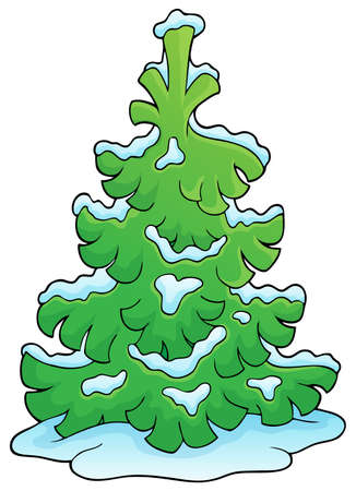 coniferous tree: Coniferous tree