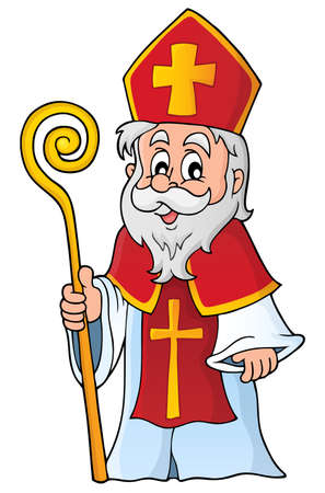 Saint Nicolas theme image 1 Stock Vector - 45606313