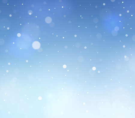 cold season: Abstract snow theme background 3