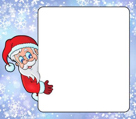lurk: Frame with Santa Claus theme 8