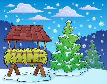 fodder: Winter season theme